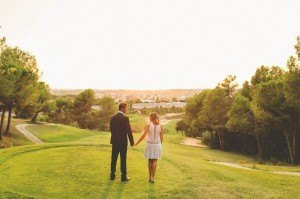 Sesión post boda Golf Sant Joan de Rubí