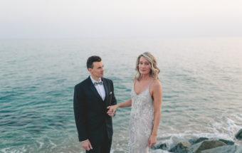 Boda romántica en la playa :: Emily+Kader ::
