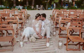 Boda en la playa :: Girona :: Yesenia + Antonio ::